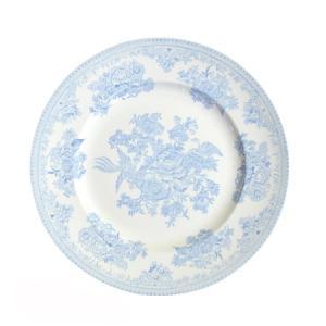 イギリス食器バーレイ社 ブルーアジアティックフェザンツ プレート25.5cm|ostuni