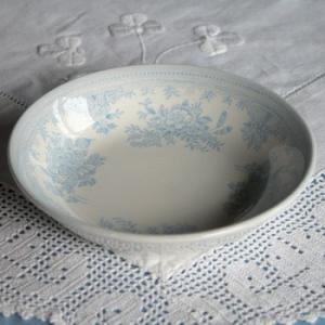 イギリス食器バーレイ社 ブルーアジアティックフェザンツ フルーツプレート(バターパッド小皿)12cm|ostuni