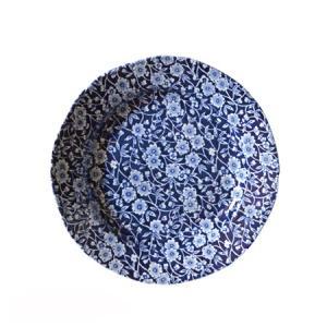 イギリス食器バーレイ社 ブルーキャリコ プレート 21.5cm|ostuni