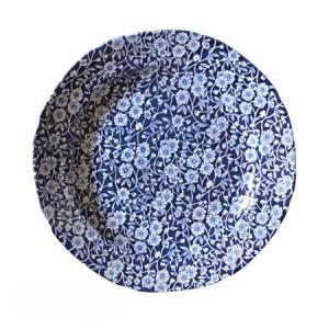 イギリス食器バーレイ社 ブルーキャリコ プレート 26.5cm|ostuni