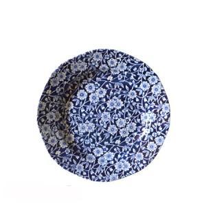 イギリス食器バーレイ社 ブルーキャリコ プレート 19cm|ostuni