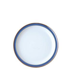 イギリス食器 デンビー インペリアルブルー ティープレート 17.5cm ostuni