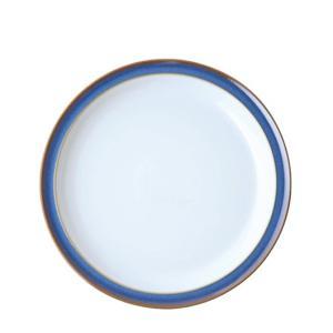 イギリス食器 デンビー インペリアルブルー デザート/サラダプレート 22cm ostuni