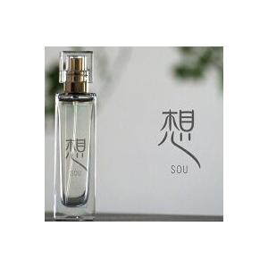 香水 和香水 想 日本製 伽羅 苔 竹 ストレス低下 香り フレグランス 水 エタノール 安定 静寂 天然香料 ビン 透明 心 木    30ml|osyare-m