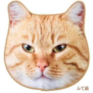 ハンカチ タオル 猫 ハンドタオル ミニタオル リアルモチーフ 猫顔 タオル ネコグッズ かわいい Heming's 猫グッズ 猫雑貨 ねこ雑貨 osyarehime 05