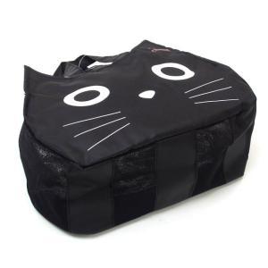 温泉バッグ お風呂バッグ スパバッグ 黒猫 キャット ノアファミリー  グッズ ねこ ネコ 猫柄 猫雑貨 猫グッズ 女性 レディース かわいい おしゃれ|osyarehime|06