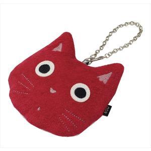 パスケース リール 定期入れ カード入れ カードケース ノアファミリー 猫 雑貨 小物 猫グッズ 女性 レディース かわいい おしゃれ|osyarehime