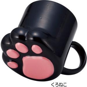 マグカップ 肉球マグ 三毛猫 トラネコ にくきゅうマグ 陶器 コーヒーカップ カップ 茶碗 コップ おしゃれ(猫グッズ 猫雑貨 猫 グッズ 雑貨 ねこ ネコ 猫柄 小物)|osyarehime|07