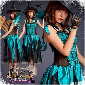 ハロウィン コスプレ 魔女 レディース 衣装 仮装 ホラー コスチューム セクシー 変装 かわいい ...