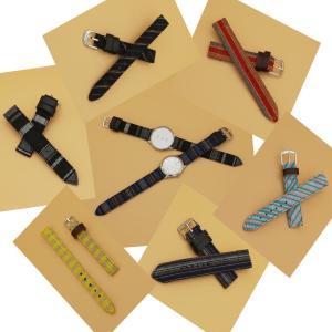 会津木綿 腕時計ベルト セミオーダーベルト 和柄 腕時計バンド 婦人用ベルト 女性用バンド osyu-tanagura