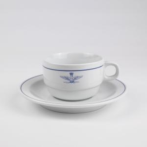 イタリア軍 コーヒーカップ&ソーサー【未使用】 osyu-tanagura