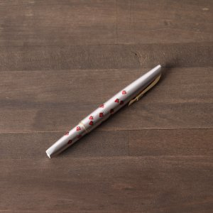 万年筆 PLATINIUM イチゴ柄 細字|osyu-tanagura