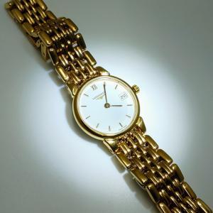 LONGINES ロンジン 金色婦人用腕時計 クォーツ L5 132 2 12 6 osyu-tanagura