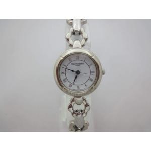 marie claireマリクレール SS白色 婦人用腕時計 クォーツ osyu-tanagura