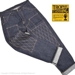 トロフィークロージング(TROPHY CLOTHING)ダブルニーダートデニム 1606 15th ...
