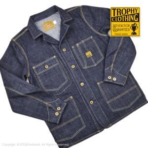 トロフィークロージング(TROPHY CLOTHING)ダートデニム カバーオール Dirt Den...