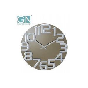 George Nelson ジョージ・ネルソン 壁掛け時計 ミラー・クロック グレー GN412|otafuku