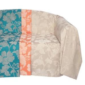 川島織物セルコン selegrance(セレグランス) フルール マルチカバー 195×195cm HV1403S BE・ベージュ|otafuku