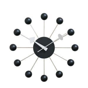 ジョージ・ネルソン ボール・クロック ブラック GN397BK|otafuku