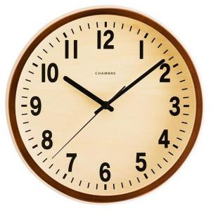 日本製 CHAMBRE PUBLIC CLOCK パブリッククロック 掛け時計 CAFEBROWN・CH-027CB|otafuku