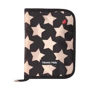 Hanna Hula(ハンナフラ) 母子手帳ケース マルチケース Mサイズ ロックスターブラック CBO-RSTR01-M|otafuku