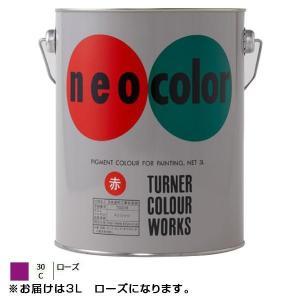 ターナー色彩 アクリル絵具 ネオカラー 3L ローズ NC00330|otafuku