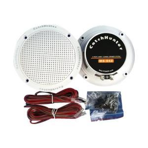 防水スピーカー・小型スピーカー 4インチ ホワイ...の商品画像