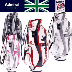 Admiral ANNI. RAMPANT & ENGLAND ADMG4SC3 アドミラル エナメル キャディバッグ 8.5型 otakara-golf