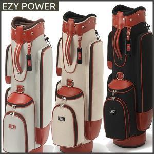 EZY POWER イージーパワー 帆布風キャディバッグ コンパクトモデル 8型 48インチ対応|otakara-golf