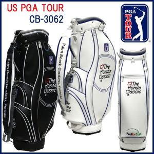 US PGA TOUR キャディバッグ CB-3062 9型 46インチ対応 「The Honda Classic」ホンダクラッシック otakara-golf