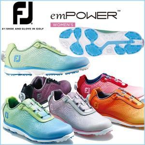 2016 フットジョイ エンパワー レディース FootJoy emPOWER スパイクレスシューズ ボア otakara-golf