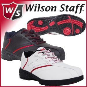 2018 ウィルソンスタッフ ゴルフ Wilson Staff WSSL-1855 スパイクレスシューズ|otakara-golf