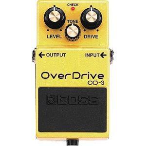 OverDrive新開発のデュアルステージ・オーバードライブ回路を搭載。一段ときれいな倍音。少ない歪...