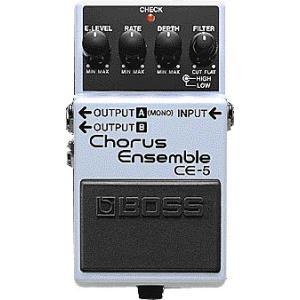 Chorus Ensemble 低域と高域をコントロールする2バンド・フィルターでアクティブに音づく...