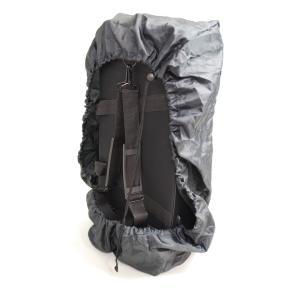 レインカバーは付けたまま、ケースを背負うことが可能です。 カバー側面の防水チャックがついており、取っ...