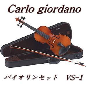 カルロジョルダーノ バイオリンセット VS-1