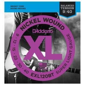 D'Addarioダダリオ、エレキギター弦 EXL120BT ■.009 .012 .015 .02...