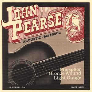 """国内外のトップミュージシャン愛用のアコースティックギター弦""""John Pearse (ジョンピアース..."""