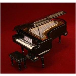 グランドピアノ 18cm 黒|otanigakki