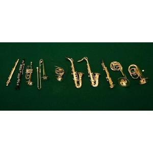 ミニチュア楽器 1/12サイズ|otanigakki