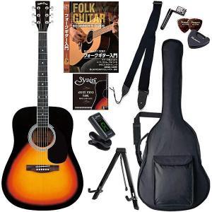 アコースティックギター 初心者10点セット セピアクルー Sepia Crue WG-10 VS 教則DVD付エントリーセット|otanigakki
