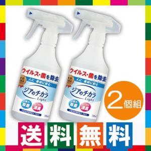 次亜塩素酸除菌水 ジアのチカラ500mlスプレーボトル 2個組 インフルエンザ予防 ウイルス除菌 除菌スプレー