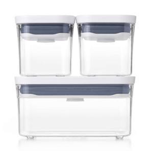 OXO オクソー ポップコンテナスターターセット 密閉保存 密封容器 フードコンテナ キッチン食品保...