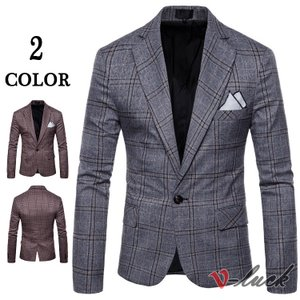 スーツジャケット メンズ 紳士服 1つボタン ビジネスジャケット テーラードジャケット ビジネス 通勤 結婚式 アウター|otasukemann