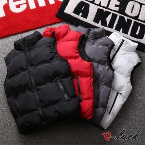 アウトドアウェア ベスト メンズ ダウンベスト 中綿ベスト 春物 防寒着 立ち襟 ベスト ジャケット おしゃれ|otasukemann
