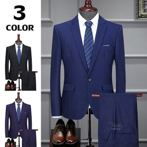 2ピーススーツ 紳士服 メンズ スーツジャケット カジュアルスーツ ビジネス セットアップ オシャレ 礼服 卒業式 新生活 結婚式|otasukemann