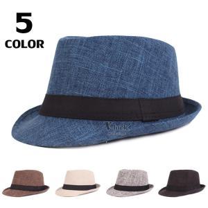 帽子 メンズ おしゃれ 中折れ帽 ハット ストローハット 紫外線防止 日よけ帽子 2019 新作 55-60CMサイズ調節 春夏秋冬|otasukemann
