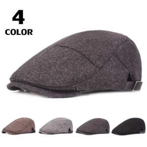 ベレー帽 メンズ ハンチング 帽子 無地ハット ハンチング帽 キャップ アウトドア サイズ調節 2019 春物|otasukemann
