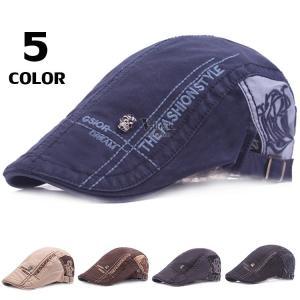 ハンチング メンズ 40代 50代 帽子 ハット キャップ キャスケット ハンチング帽子 防寒 春物 サイズ調節 全5色|otasukemann