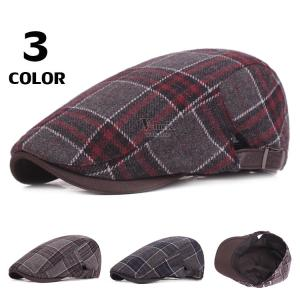 ハット ハンチング メンズ 40代 50代 帽子 キャップ ハンチング帽子 キャスケット サイズ調節 防寒 春物 全3色|otasukemann